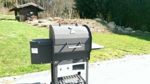 BBQ-Griller der Maschinenfabrik Rudnick & Enners, Alpenrod